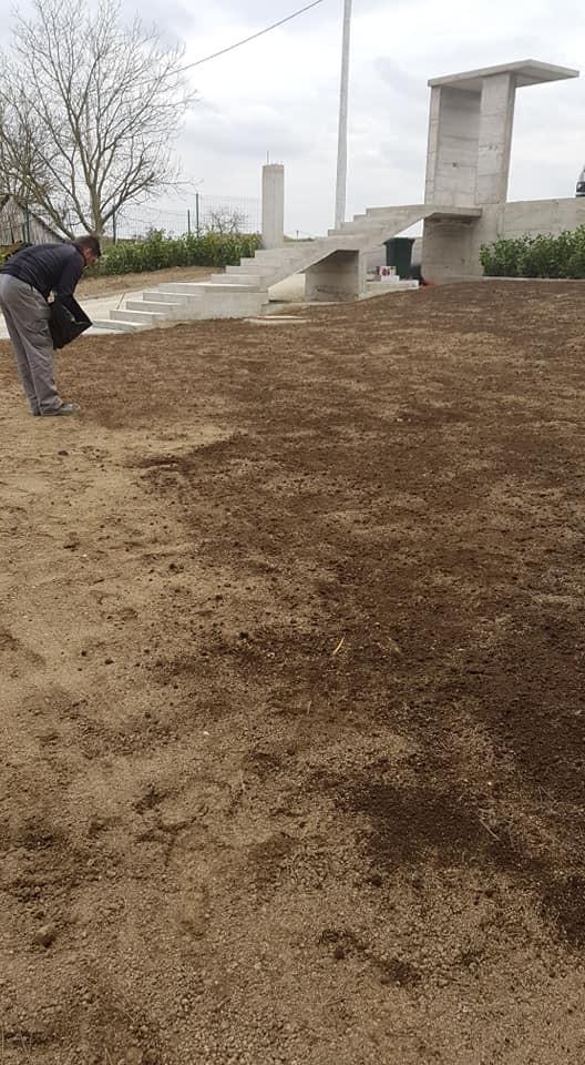 Priprema terena, frezanje, fino planiranje