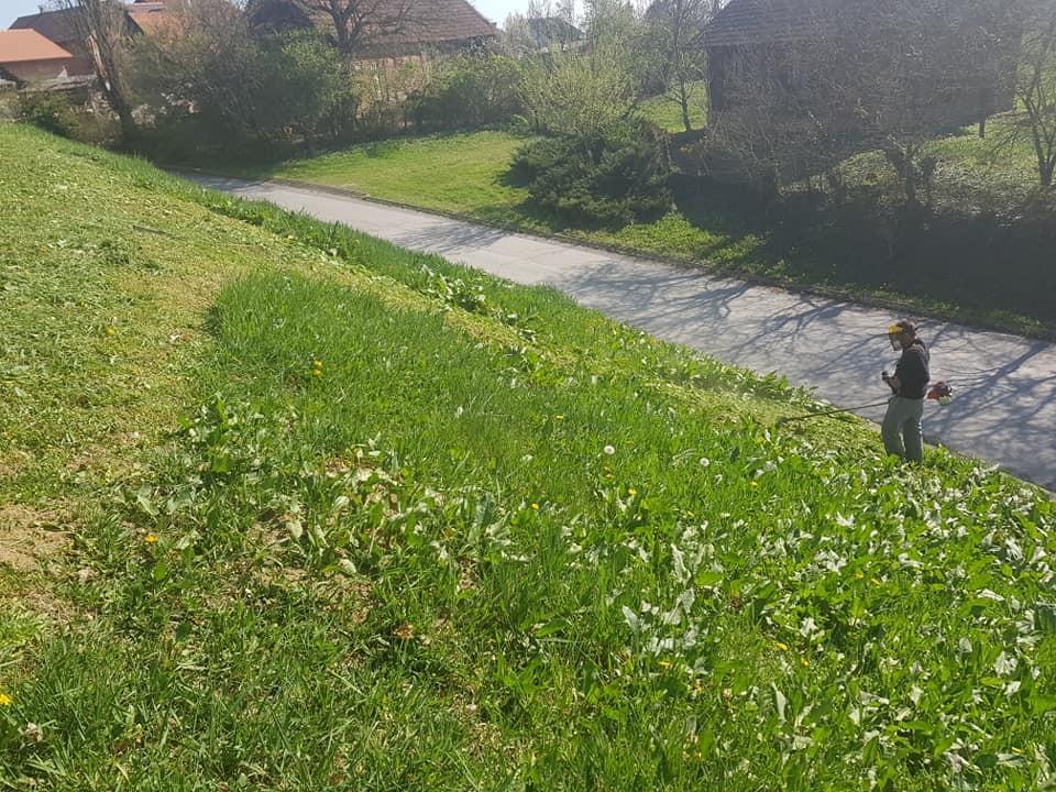 Košnja i održavanje javnih zelenih površina