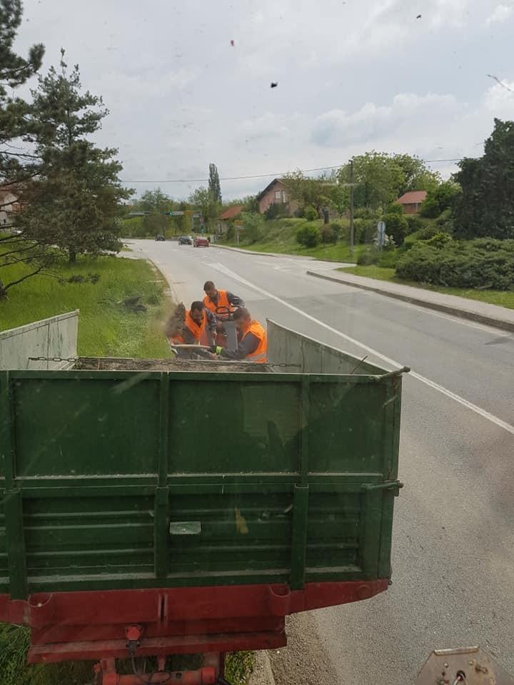 Uklanjanje sipine i ostalog otpada s javnih prometnih površina