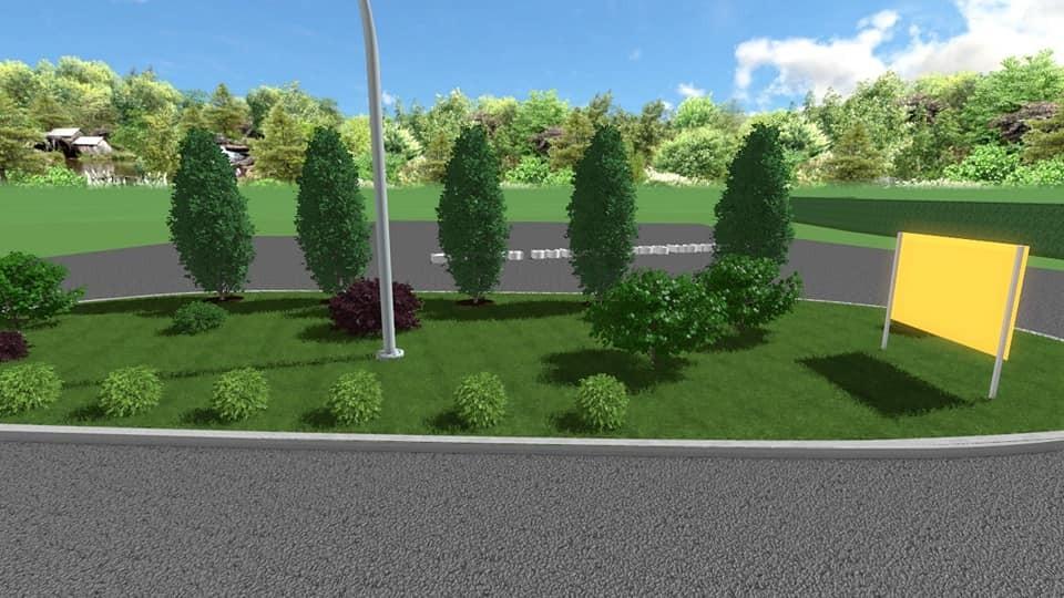 3d rješenje realizirano - projekt uređenja javne površine
