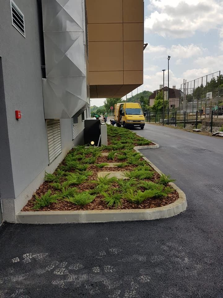Projekt uređenja okoliša nove osnovne škole na Markuševcu