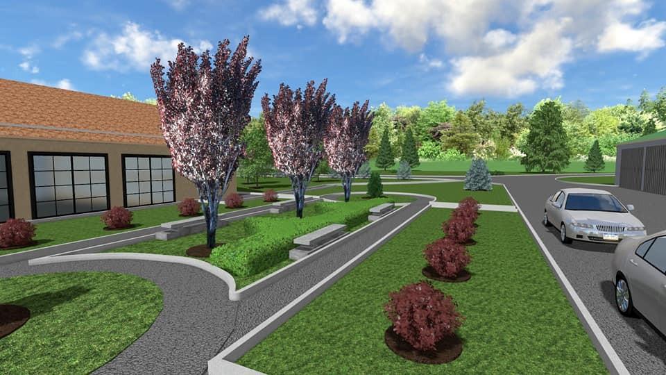 3D projekt - sadnja bilja, postavljanje specijaliziranih vrtnih rubnjaka