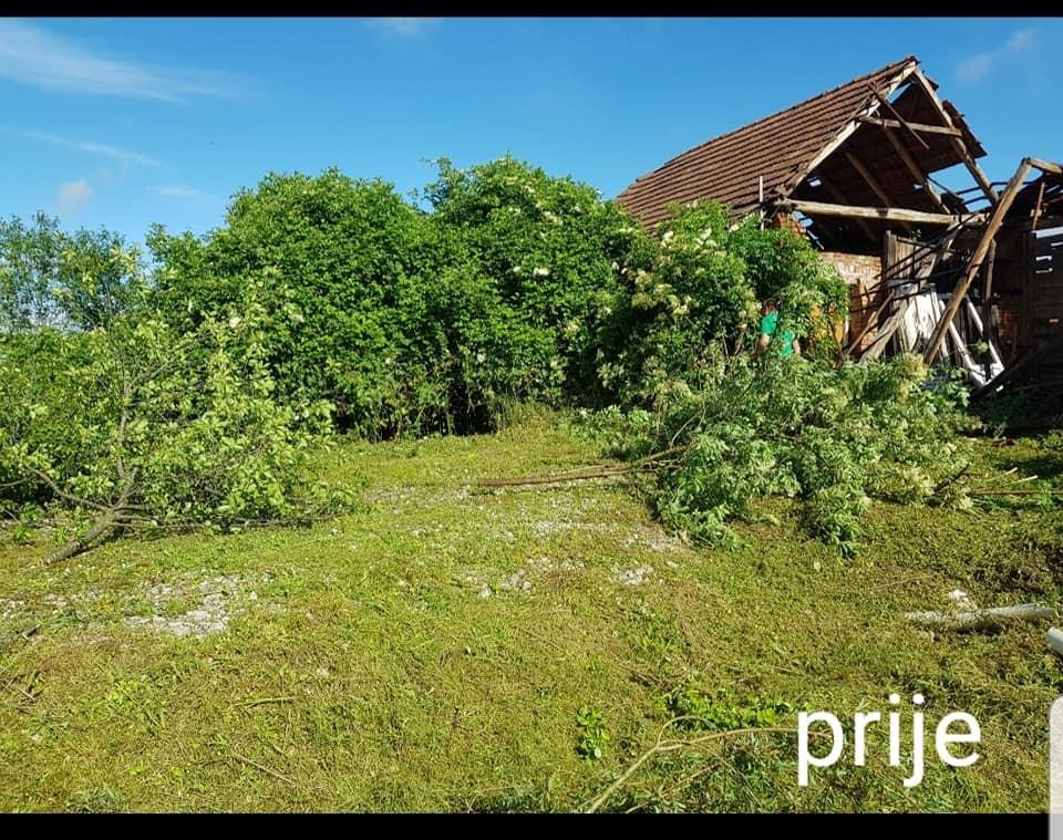 Kompletno čišćenje zapuštenih parcela (prije/poslije)