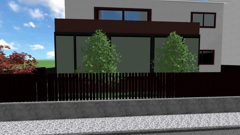 Projekt okoliša urbane vile