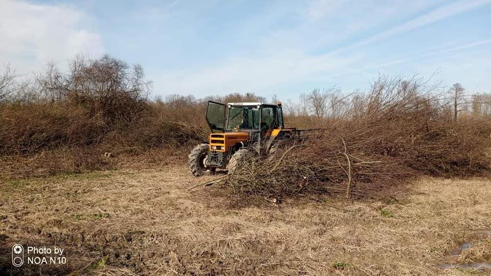 Čišćenje parcele i krčenje, izrada i izvoz metrice, priprema za vađenje panjeva i pretvorbu zemljišta u poljoprivredno