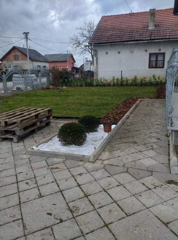 Izrada travnjaka polaganjem travnog tepiha