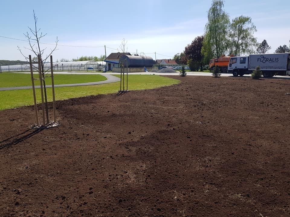 Priprema i sjetva novog dijela travnjaka