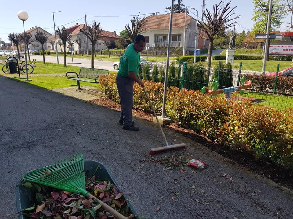 Sijanje novog travnjaka i uređenje zelenih površina