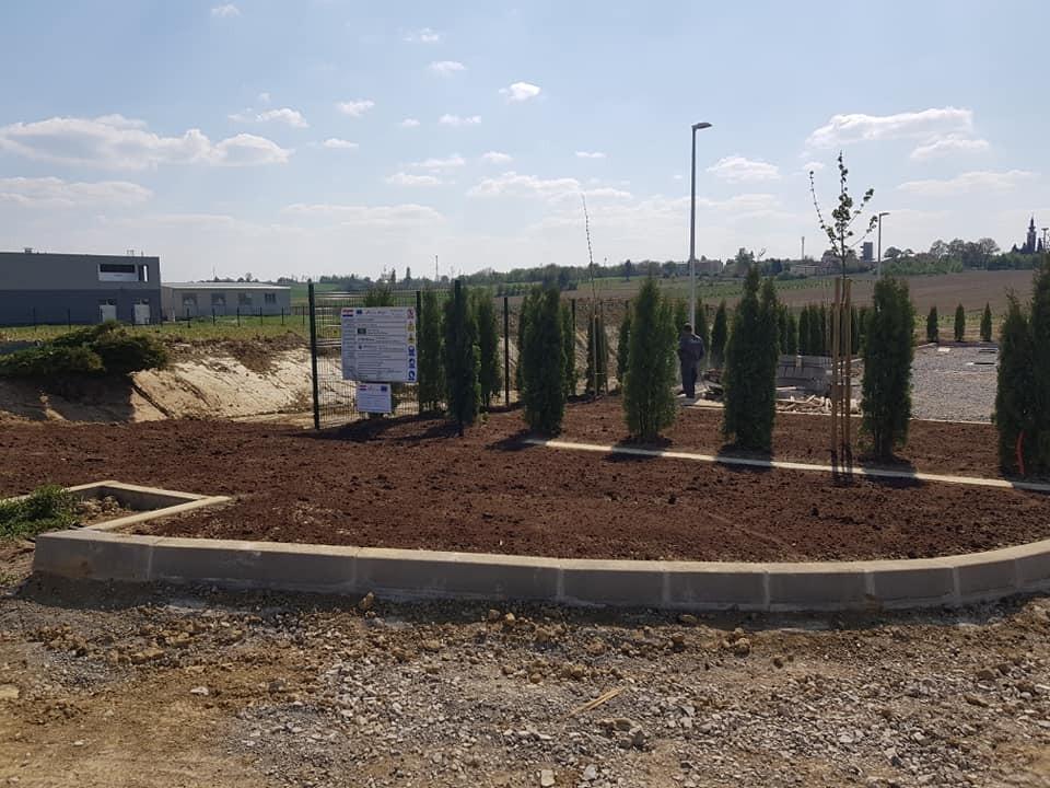 Krajobrazno uređenje novog reciklažnog dvorišta u Štefanju
