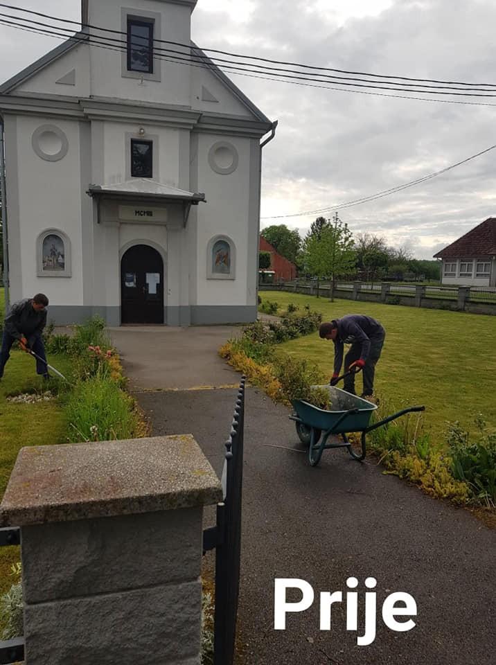 Uređenje okoliša crkve u Farkaševcu