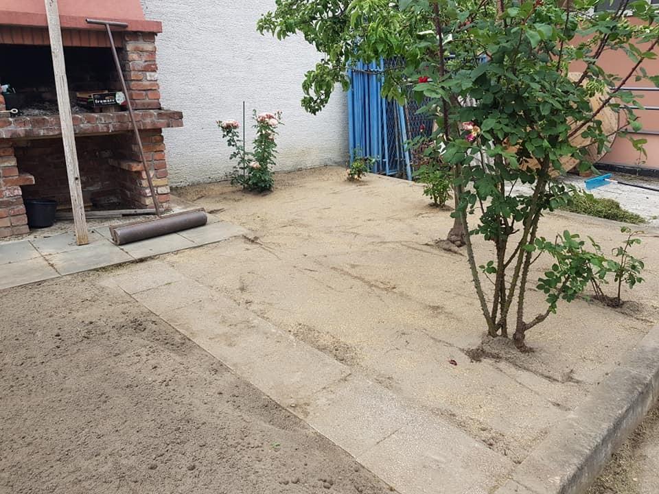 Postavljanje travnog busena, dovoz humusa, sijanje travnjaka, sadnja bilja i uređenje