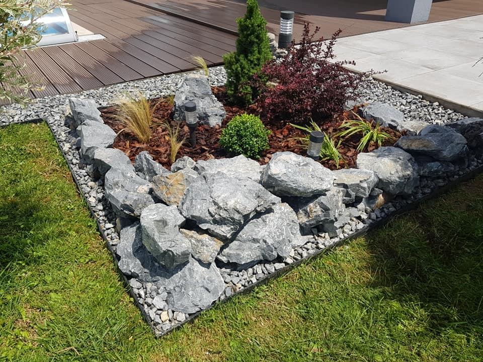 Sadnja bilja, izrada modernog kamenjara prema vlastitom dizajnu