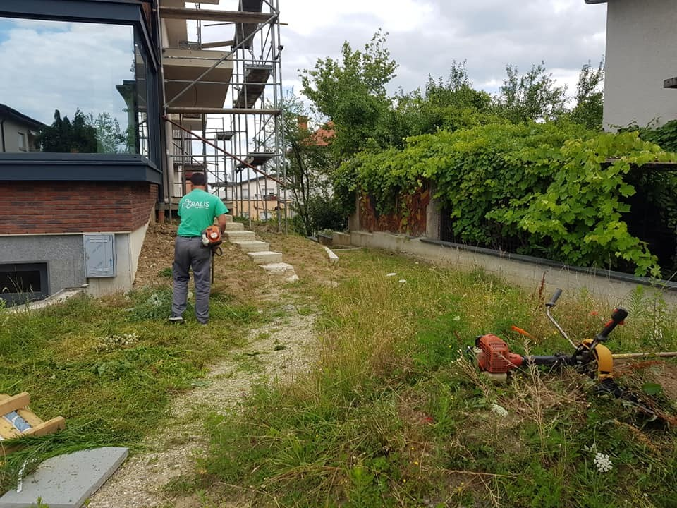 Košnja i priprema terena za izvođenje hortikulturnih radova