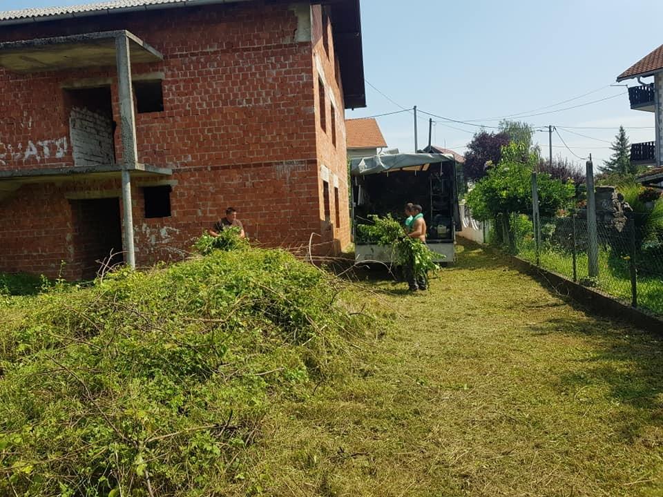 Čišćenje vegetacije gradilišta