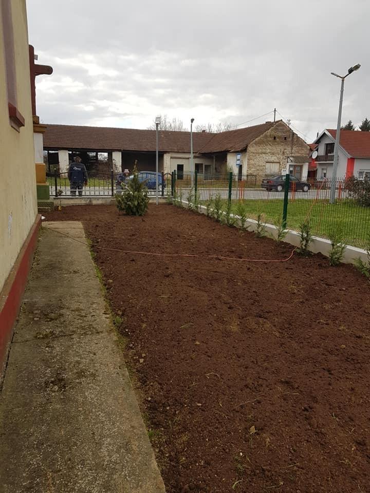 Uređenje okoliša crkve