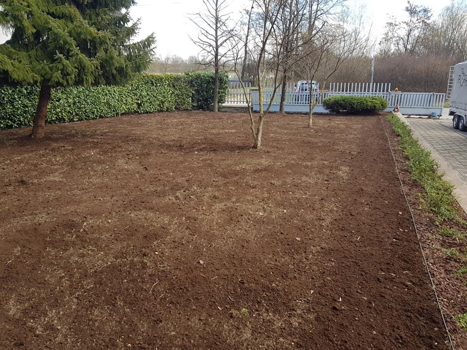 Sjetva novog travnjaka i uređenje okoliša