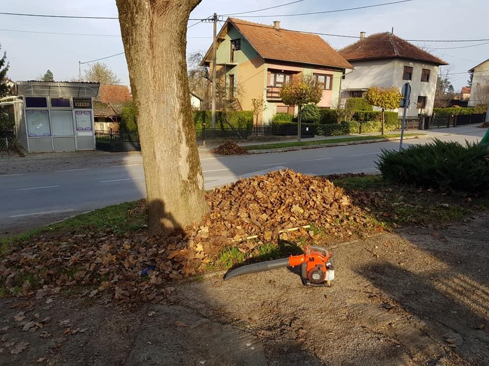 Jesenska čišćenja privatnih i javnih površina