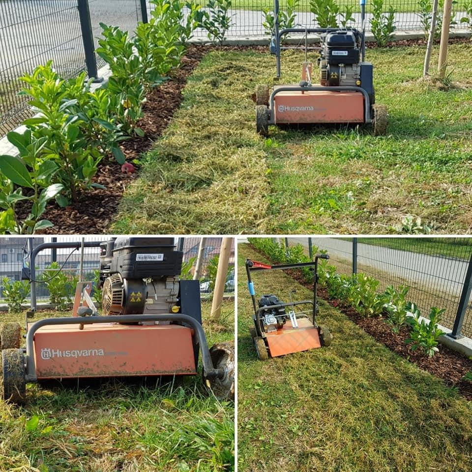 Prozračivanje i nadosijavanje travnjaka
